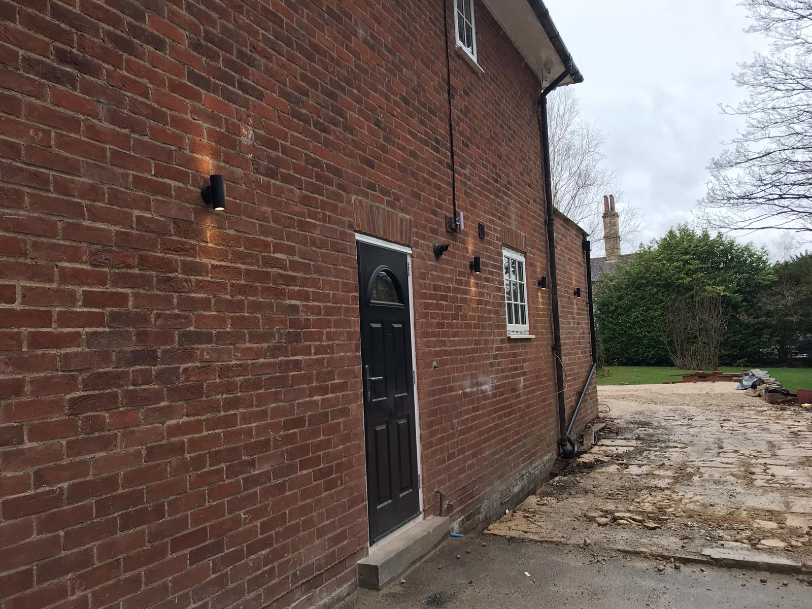 External Lighting - Domestic Electrician Wakefield